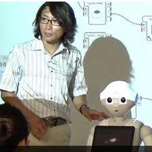 ペッパー君で学ぶ ロボットアプリケーション開発セミナー
