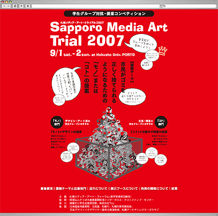 Sapporo Media Art Trial 2007